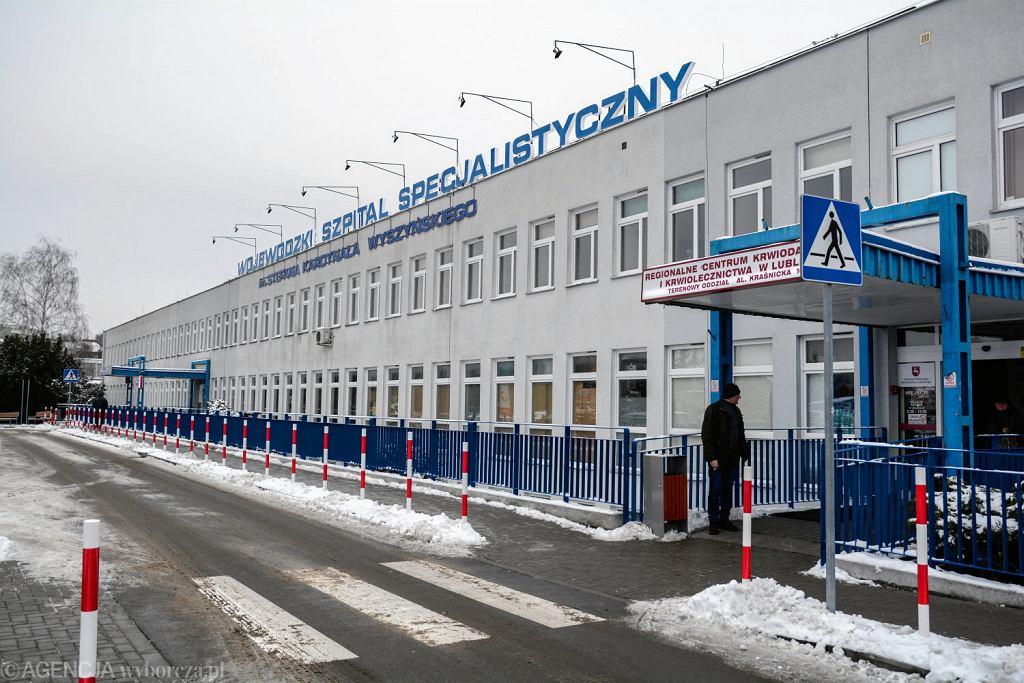 Wojewódzki Szpital Specjalistyczny im. Stefana Kardynała Wyszyńskiego w Lublinie (zdjęcie ilustracyjne)