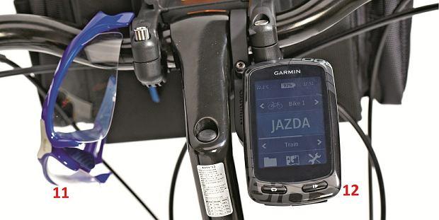Przyda się też nawigacja i odpowiednie okulary, rowery, sprzęt rowerowy, GPS do roweru