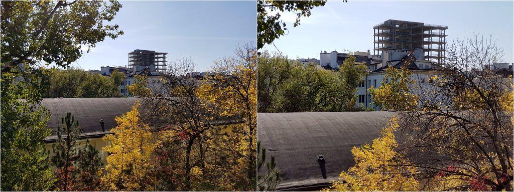 Note8 - porównanie zdjęć z obu aparatów