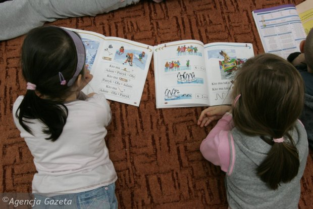 Przedszkolaki czytają
