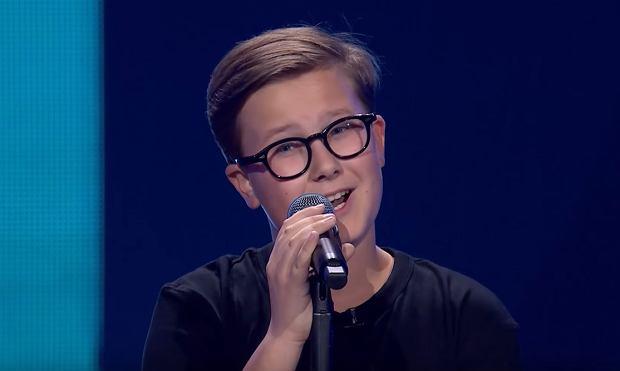 Antoni Szydłowski - 'Hello' - Przesłuchania w ciemno | The Voice Kids Poland 3