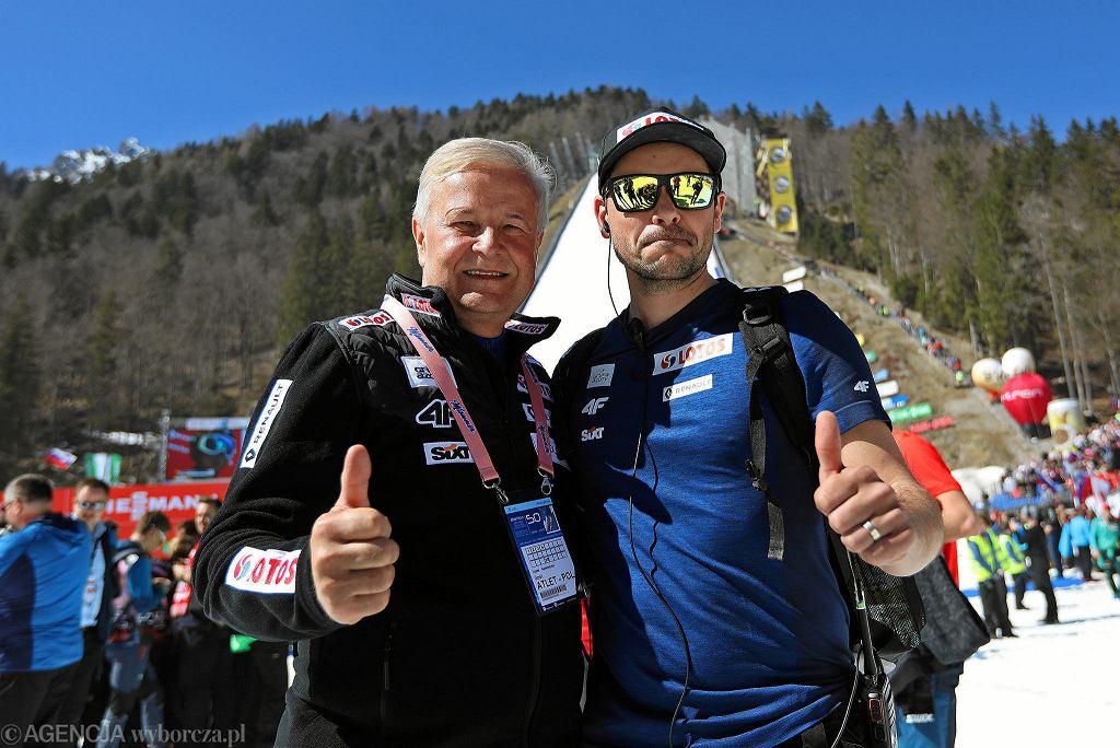 Apoloniusz Tajner i Michal Doleżal