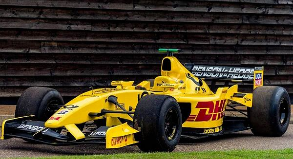 Bolid F1 Jordan EJ12