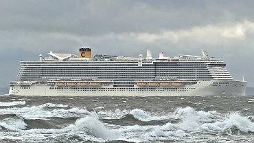 Statek wycieczkowy Costa Smeralda (zdjęcie ilustracyjne)