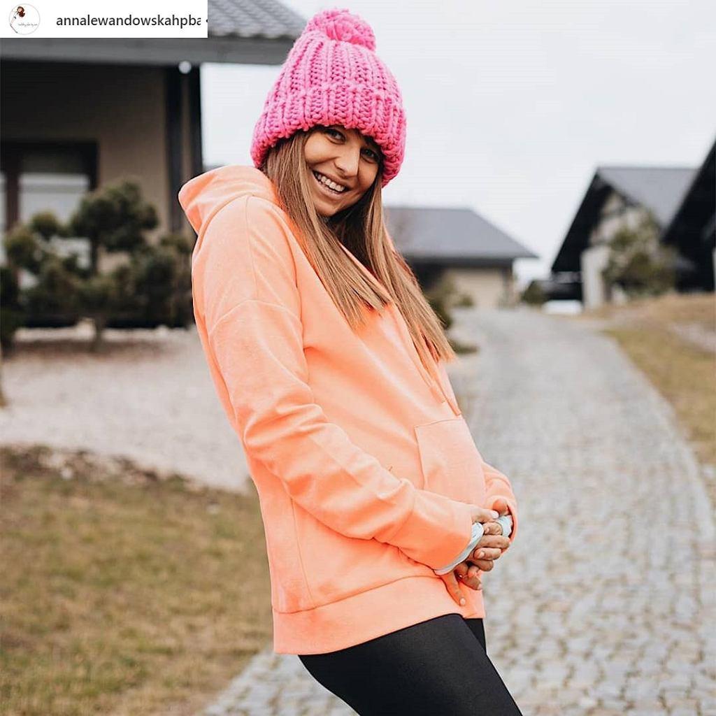 Anna Lewandowska w ciąży