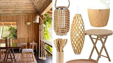 Bambusowe meble i dodatki do domu