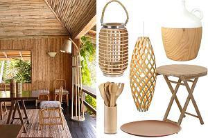 Bambus - modny motyw we wnętrzach