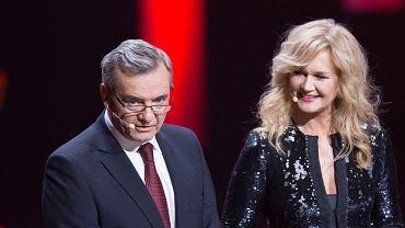 Gala wręczenia Paszportów Polityki w 2018 roku - Jerzy Baczyński i Grażyna Torbicka