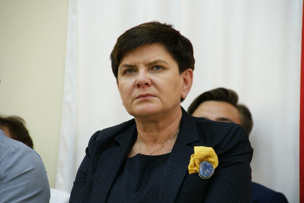 Spotkanie z wicepremier Beatą Szydło w Starachowicach, 23.06.2018