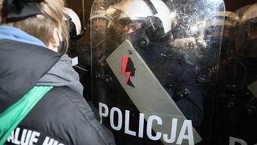 Protest w Warszawie (29.01)