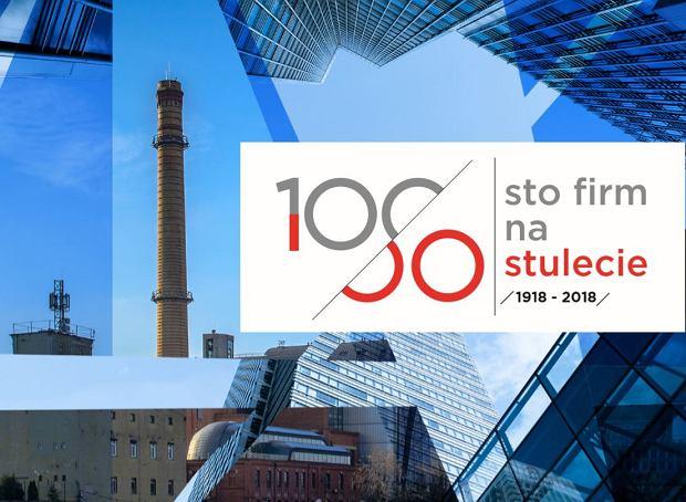 100 firm na stulecie
