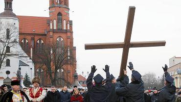 Białystok. Droga krzyżowa przeszła przez centrum miasta