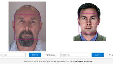 Po lewej zdjęcie zabójcy z Berlina po zatrzymaniu. Po prawej zdjęcie z oficjalnego rosyjskiego listu gończego za Wadimem Krasikowem. To te same osoby