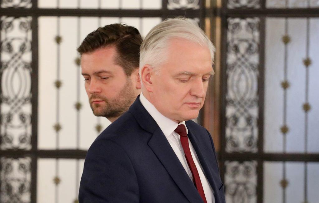 Kamil Bortniczuk i Jaroslaw Gowin.