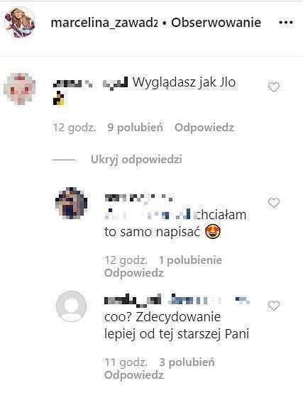 Marcelina Zawadzka - komentarze