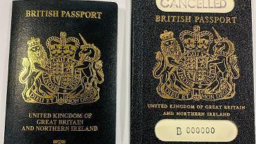 Nowy brytyjski paszport/Fot. https://www.gov.uk/