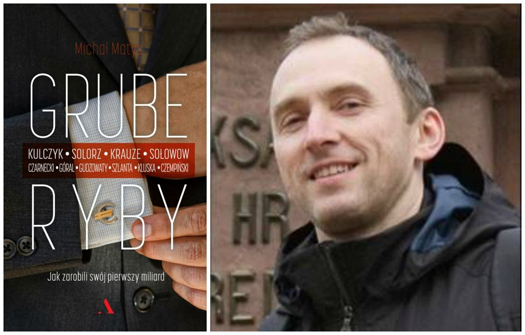 Książka ''Grube ryby...'' ukazała się nakładem Wydawnictwa Agora (fot. materiały prasowe)