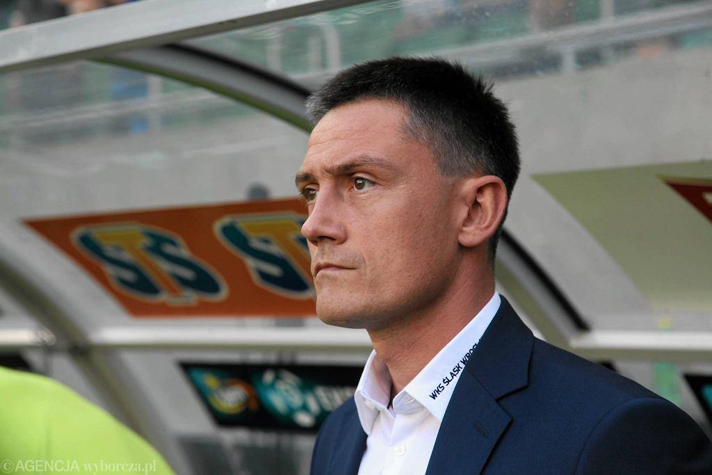 Trener Mariusz Rumak