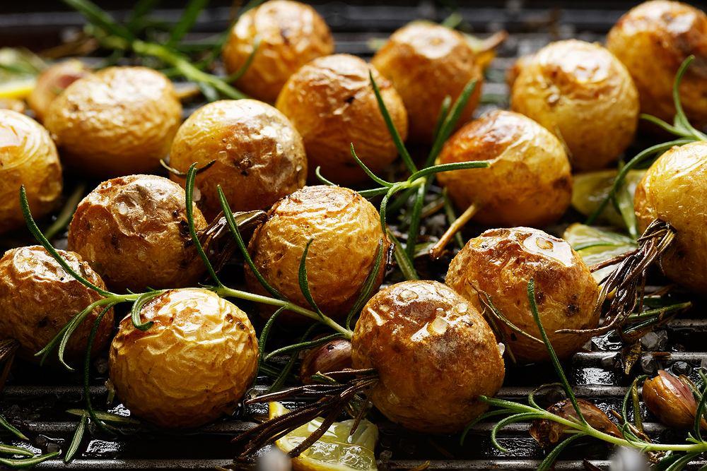 Ziemniaki z grilla z rozmarynem