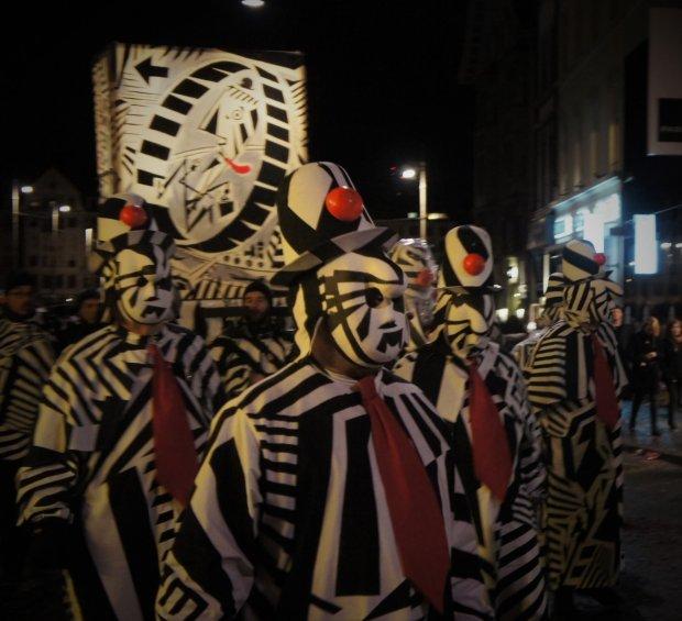 Parada podczas Karnawału w Bazylei / fot. Katarzyna Belczyk