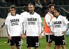 """Piłkarze Legii wspierają kolegę: """"Sagan, czekamy na Ciebie"""""""