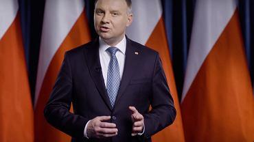 Orędzie Andrzeja Dudy ws. koronawirusa