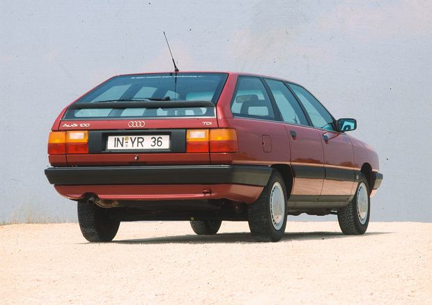 Audi 100 Avant TDI, 1989 r.
