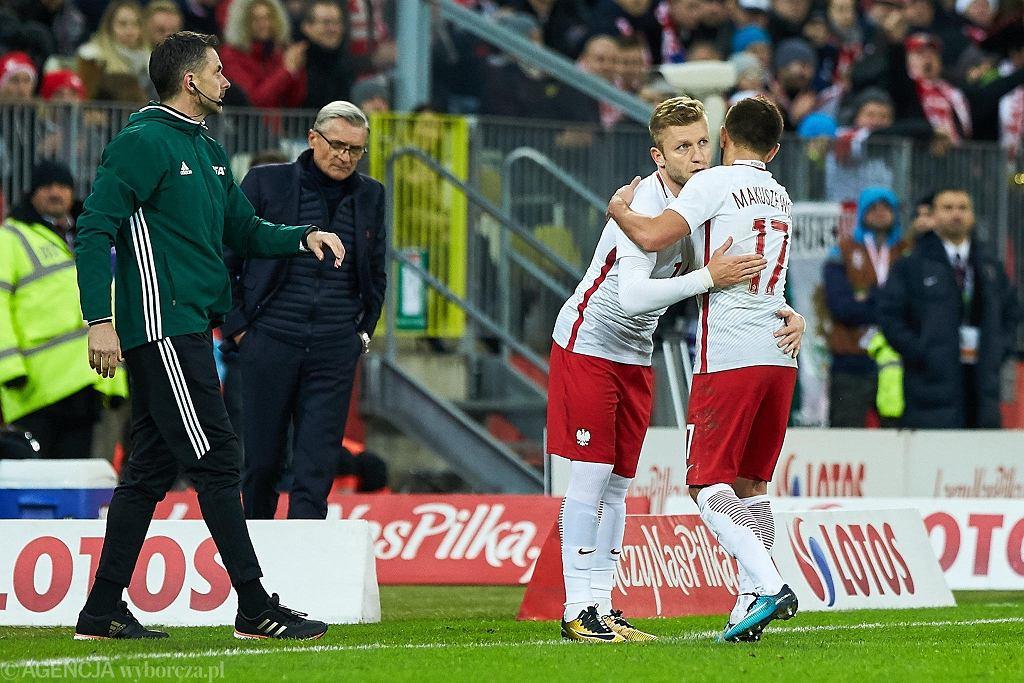 Jakub Błaszczykowski wchodzi na boisko w meczu z Meksykiem