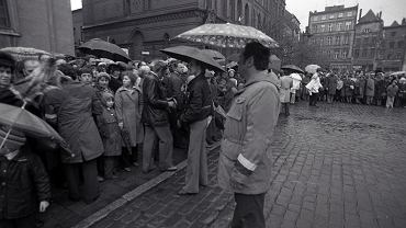 Tak wyglądał 3 maja 1981 w Toruniu
