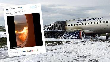 Katastrofa samolotu SSJ-100. Jest nagranie z wnętrza płonącej maszyny