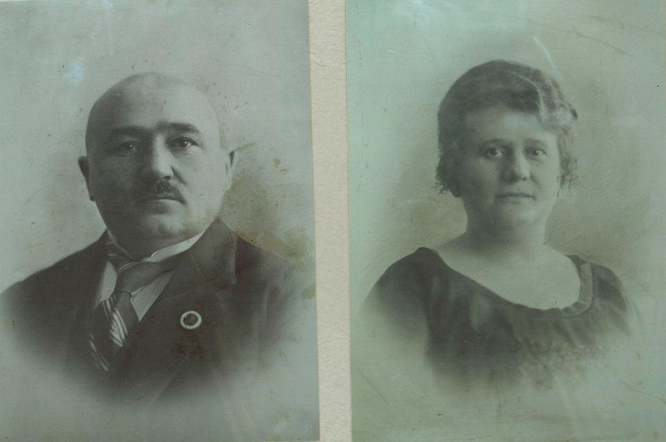 Dzidkowie Rucińscy, ok. 1910 r.
