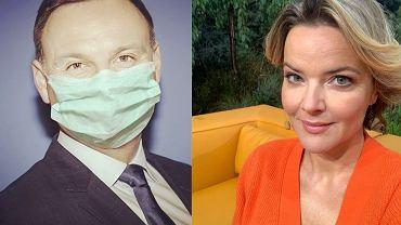 Monika Zamachowska krytykuje partię rządzącą