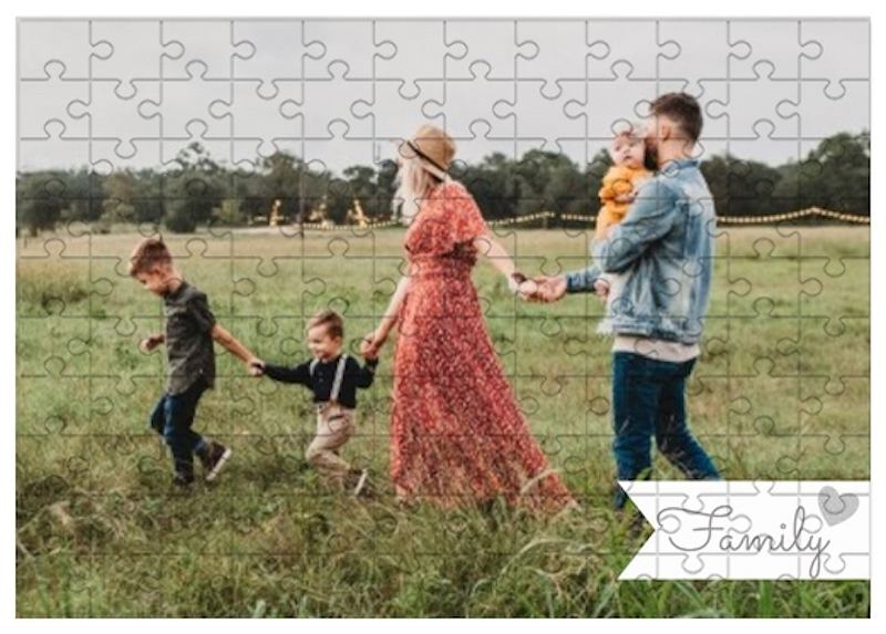 Fotopuzzle 'Family'.