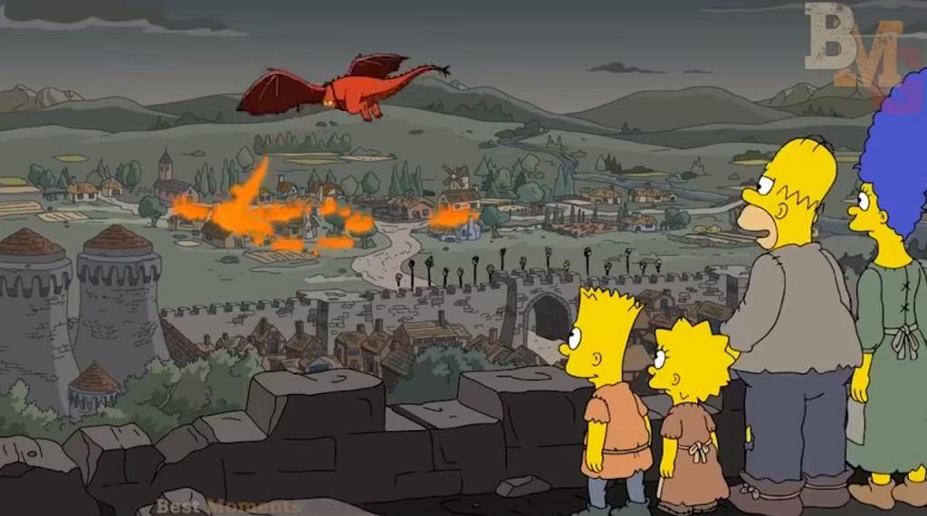Twórcy 'The Simpsons' przewidzieli, co się stanie w 'Grze o tron'