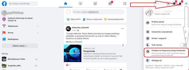 Jak wyłączyć nowy wygląda Facebooka?