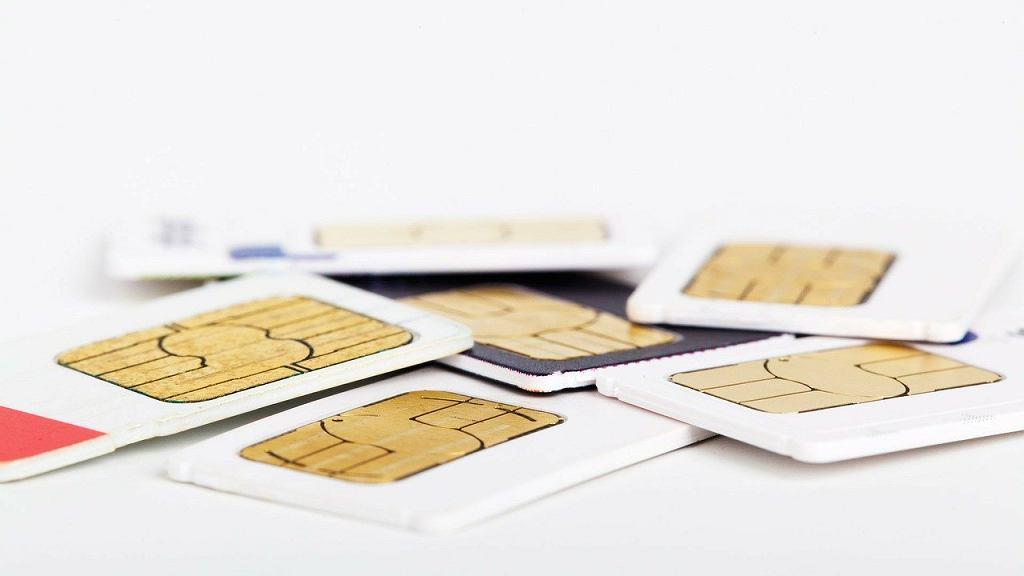 Karta SIM - zdjęcie ilustracyjne