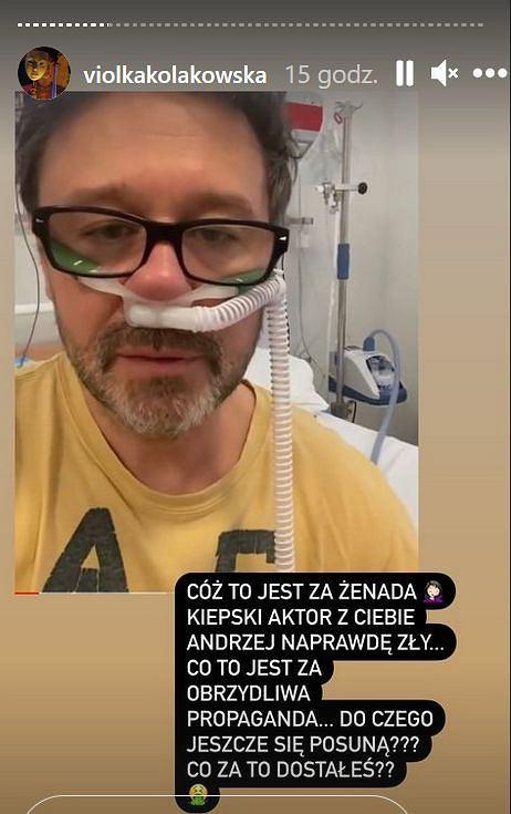 Viola Kołakowska atakuje Andrzeja Piasecznego