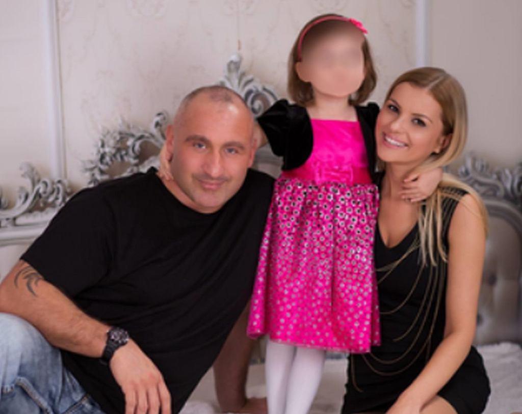 Marcin Najman z rodziną