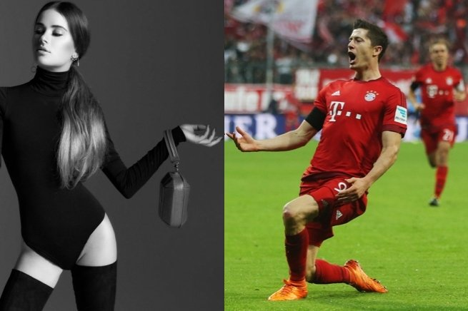 Maffashion i Robert Lewandowski