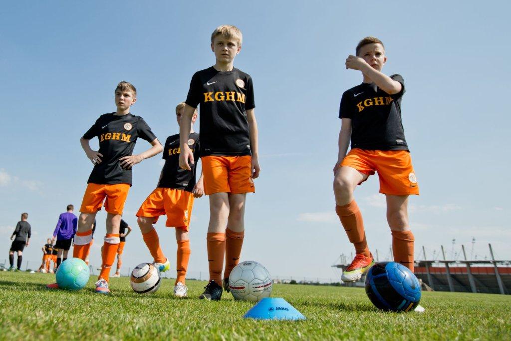 Młodzież z Akademii Piłkarskiej KGHM Zagłębia Lubin ma być przyszłością klubu