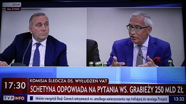 Sejmowa komisja ds VAT na antenie TVP Info