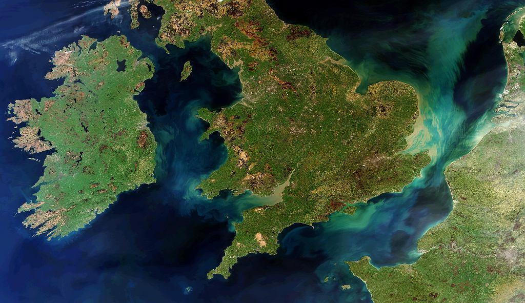 Wielka Brytania sfotografowana z kosmosu przez ESA
