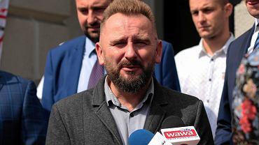 Piotr Liroy-Marzec kandyduje na prezydenta Kielc