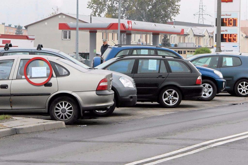 Ogłoszenia na samochodach