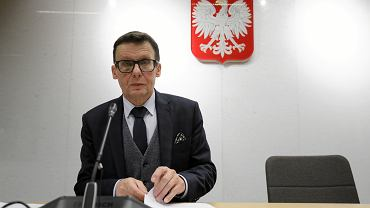 Posiedzenie Sejmowej Komisji Sprawiedliwosci i Praw Czlowieka w Warszawie. Na zdjęciu poseł Marek Ast