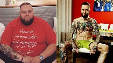 """Mateusz Borkowski """"Big Boy"""" walczył z otyłością. """"Miałem problemy z poruszaniem się"""". Jak teraz wygląda jego dieta? [PLOTEK EXCLUSIVE]"""