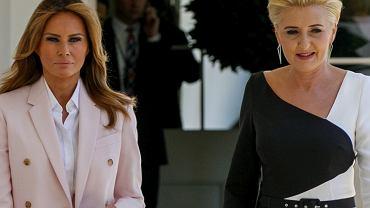 Melania Trump i Agata Duda