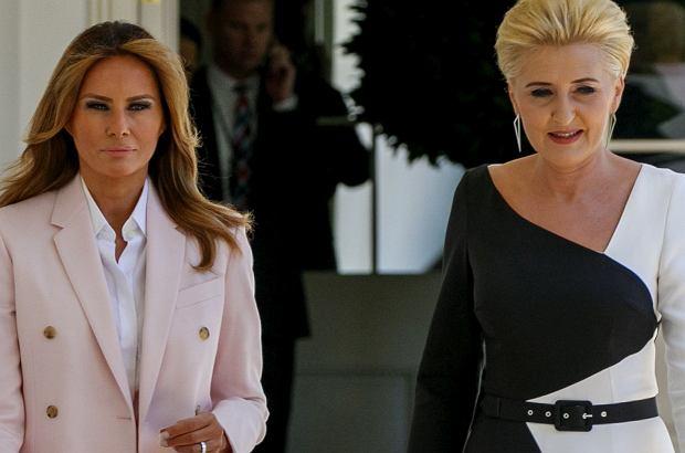 a23cdacfa06 Melania Trump oceniła Agatę Dudę. To spore wyróżnienie, gdyż ...