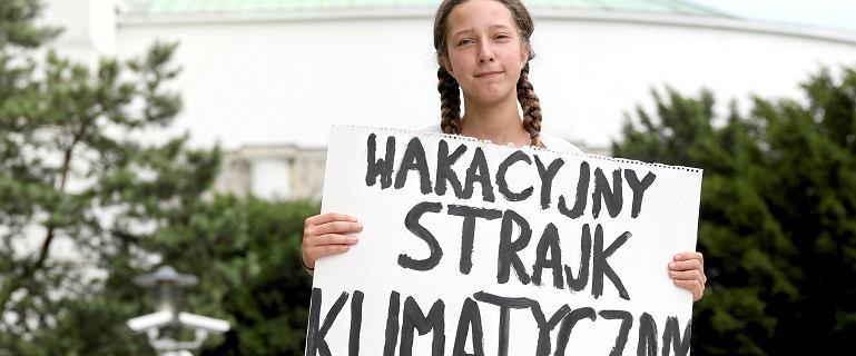 Hejt na strajk 13-letniej Ingi.