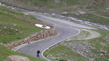Rowerami przez Alpy.